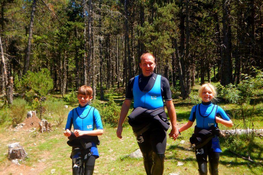 Activitats esportives de muntanya en familia a La Cerdanya, Puigcerdà