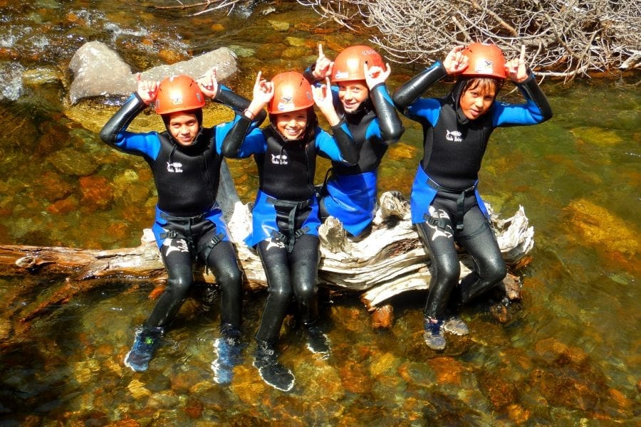 Gaudeix dels esports d'aventura i la teva familia amb Bavaresa Barranquisme Cerdanya